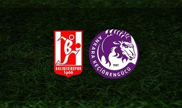 Balıkesirspor - Keçiörengücü maçı saat kaçta ve hangi kanalda?