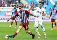 Trabzonspor ile Sivasspor 25. randevuda
