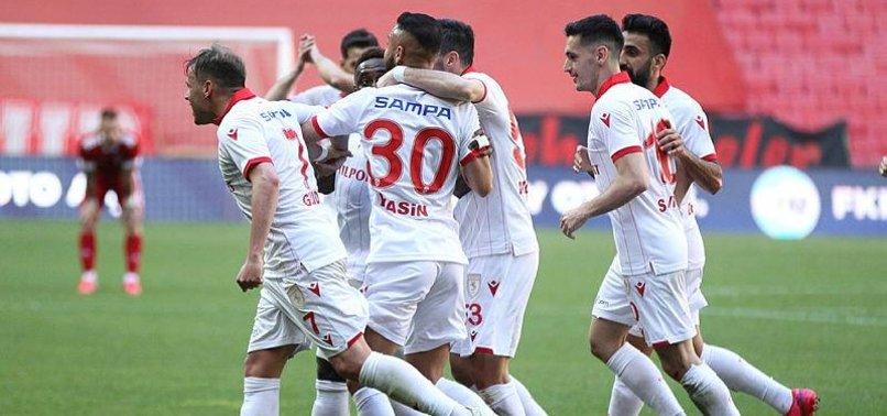 Samsunspor 3-1 Ankaraspor (MAÇ SONUCU-ÖZET)