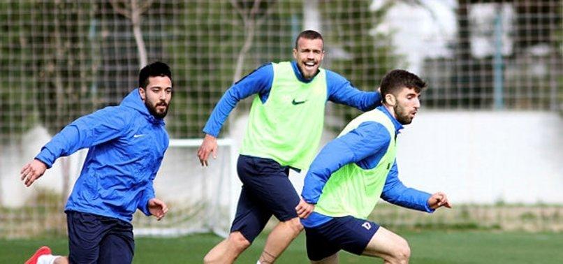 Antalyaspor'da Başakşehir maçı hazırlıkları