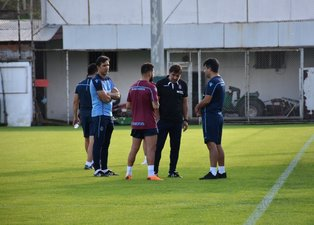 Trabzonsporda Erzurumspor maçı hazırlıkları başladı