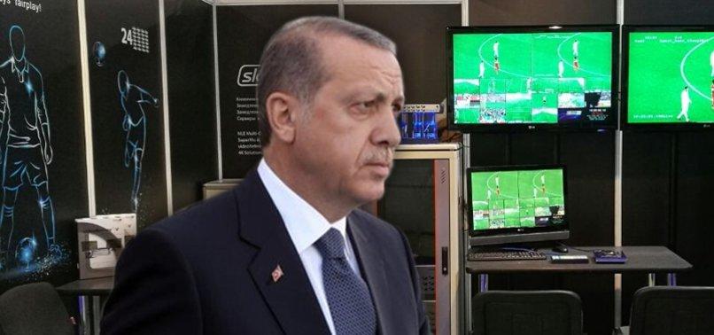 Başkan Erdoğan'dan VAR açıklaması
