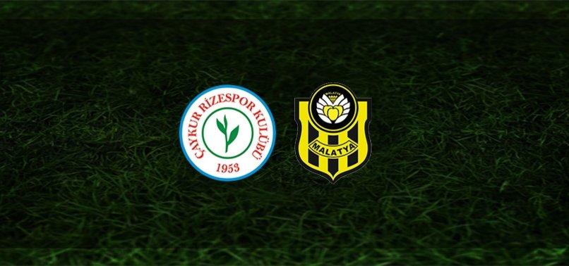 Çaykur Rizespor - Yeni Malatyaspor maçı ne zaman, saat kaçta ve hangi kanalda? | Süper Lig