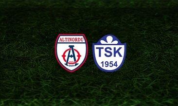 Altınordu - Tuzlaspor maçı saat kaçta ve hangi kanalda?