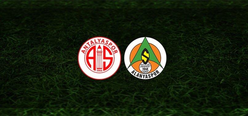 Antalyaspor - Alanyaspor maçı ne zaman, saat kaçta ve hangi kanalda?   Süper Lig