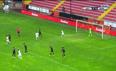 Kayserispor 3-1 Manisa FK