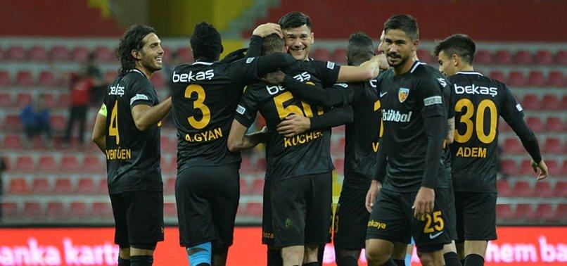Kayserispor Başkent'te galibiyet hesabında