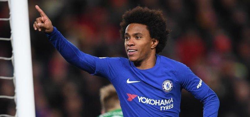 Chelsea'nin yeni 10 numarası: Willian