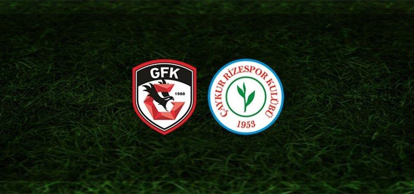 Gaziantep FK - Rizespor maçı ne zaman, saat kaçta ve hangi kanalda? | Süper Lig