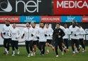 Galatasaray, kupa maçı hazırlıklarını tamamladı