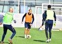 Başakşehir G.Saray maçının hazırlıklarını sürdürdü