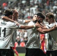 Beşiktaş - Göztepe maçından kareler