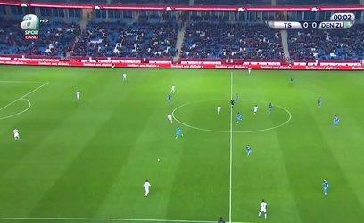 Trabzonspor 2 - 0 Denizlispor l GENİŞ ÖZET