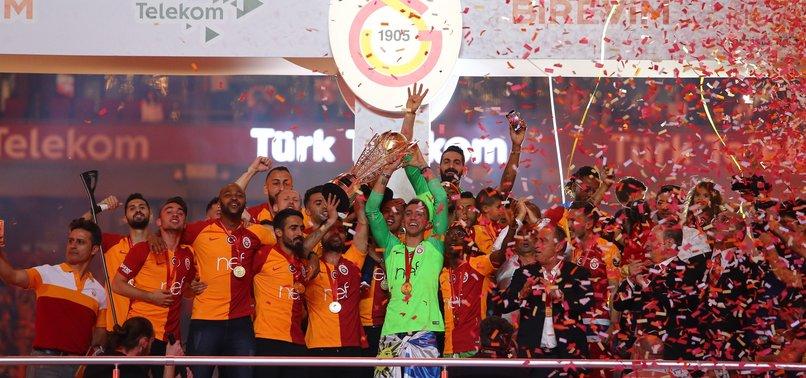 Galatasaray Şampiyonluk kupasına kavuştu