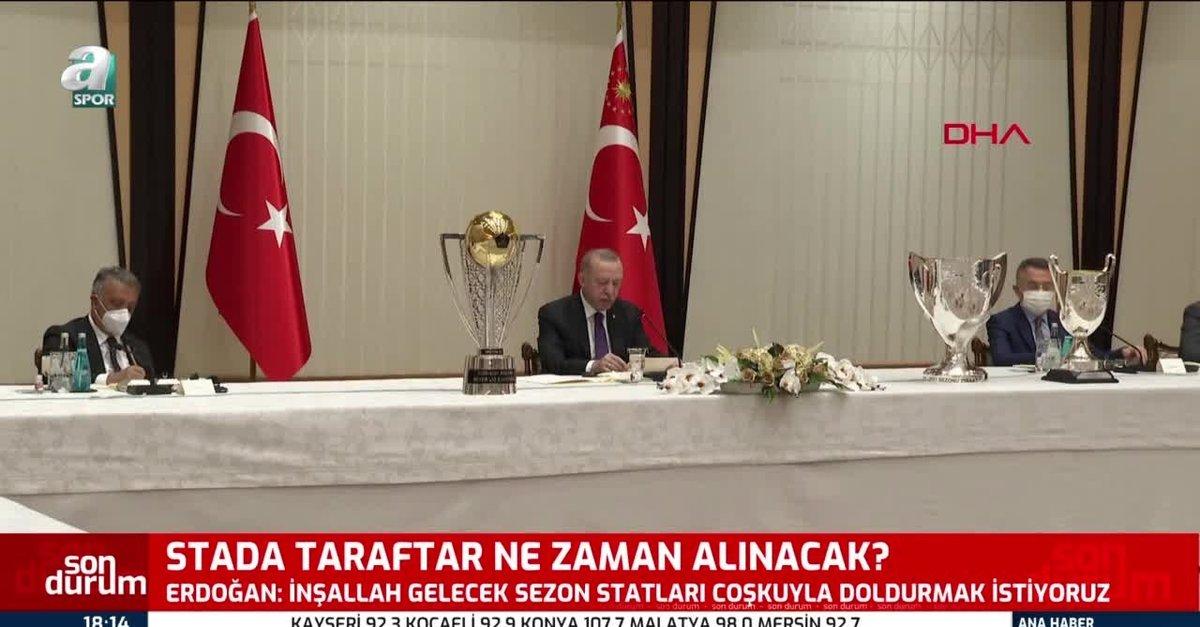 Başkan Recep Tayyip Erdoğan'dan taraftar müjdesi!