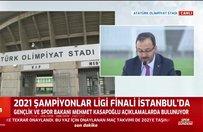 UEFA'nın kararı sonrasında ortak basın toplantısı
