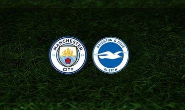 Manchester City - Brighton maçı saat kaçta ve hangi kanalda?