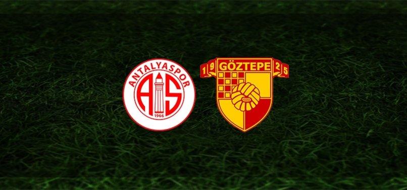 Antalyaspor - Göztepe maçı ne zaman, saat kaçta ve hangi kanalda?   Süper Lig