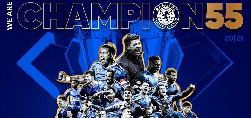İskoçya'da şampiyon Rangers oldu! Celtic...