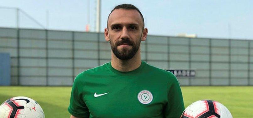 Galatasaraylı taraftarlar Vedat Muriç'i istemiyor
