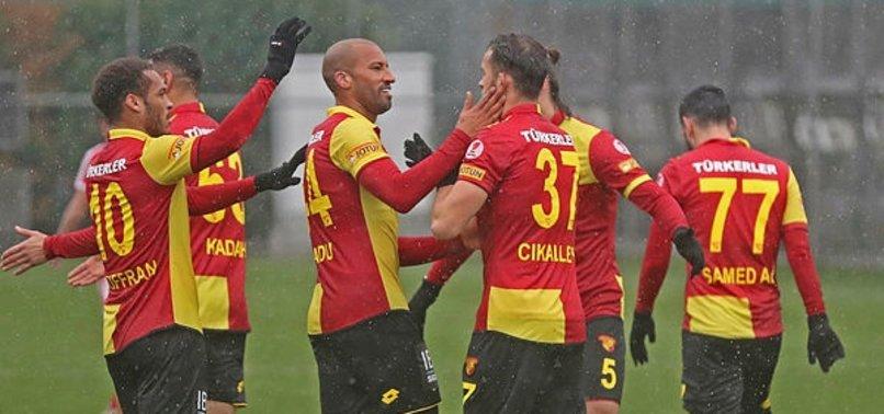 Göztepe Antalyaspor'a konuk olacak