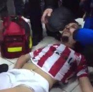 Futbolcuları hastanelik ettiler!