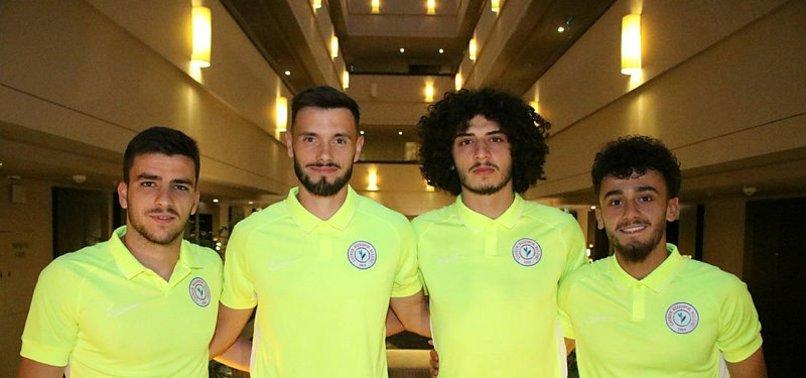 Ç. Rizespor'da yeni transferler kampa katıldı