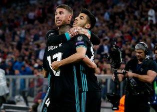 Real Madrid, Bayern Münih deplasmanından mutlu döndü