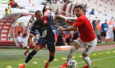 Antalya'da 4 kırmızı, 2 gol, kazanan yok!