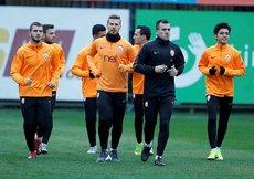 Galatasaray kupa rövanşına hazır