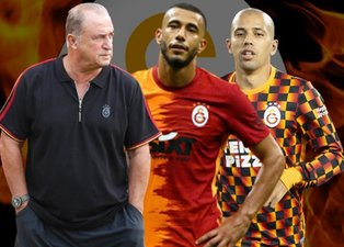 Galatasaray'da Fatih Terim'den sürpriz Belhanda ve Feghouli kararı!