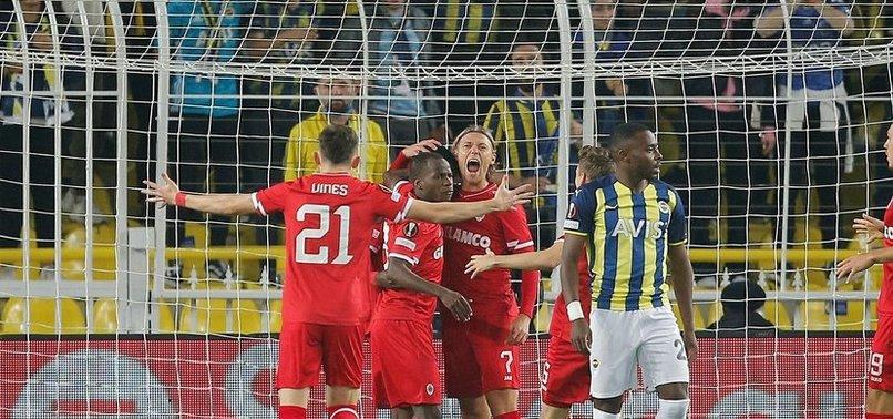 Fenerbahçe Antwerp maçında skandal karar!