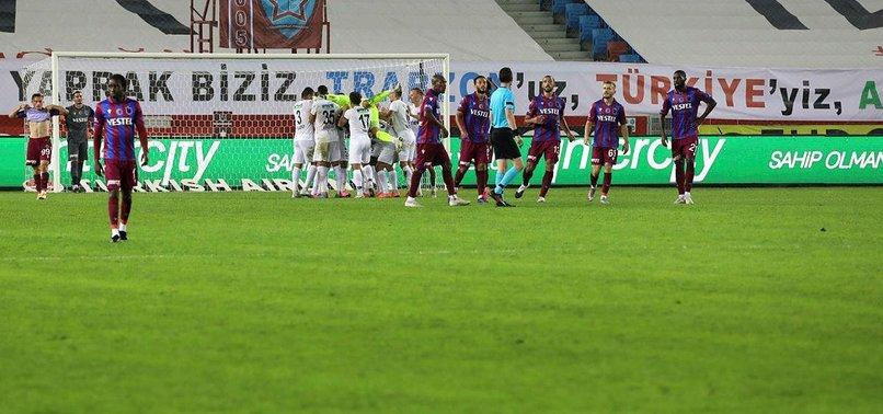 Trabzonspor'da defans hattı dökülüyor
