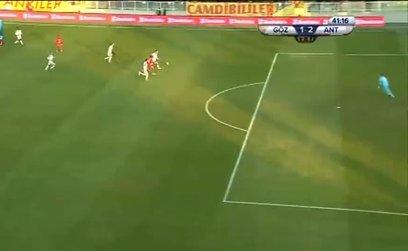 Göztepe 1-2 Antalyaspor