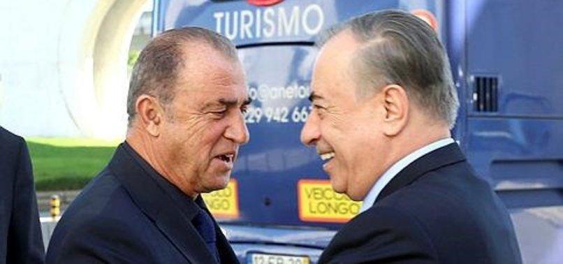 Mustafa Cengiz ve Fatih Terim Galatasaray bir okyanus siz bir damlasınız