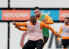 Galatasaray, Schalke maçı hazırlıklarını sürdürdü