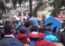 Trabzonda Beşiktaş maçı heyecanı