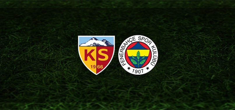Kayserispor Fenerbahçe maçı CANLI