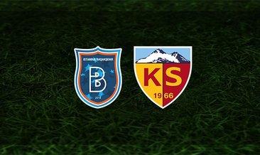Başakşehir - Kayserispor maçı saat kaçta ve hangi kanalda?