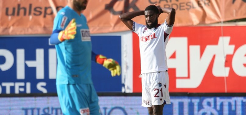 Trabzonspor'da Djaniny fırsatı değerlendiremedi