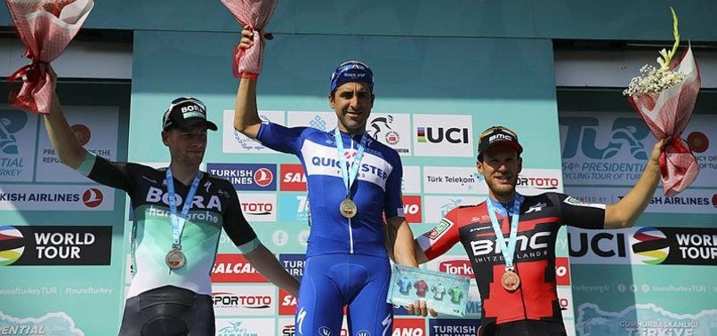 Cumhurbaşkanlığı Bisiklet Turu'nda Konya etabını Richeze kazandı