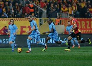 Göztepe - Trabzonspor maçından kareler...