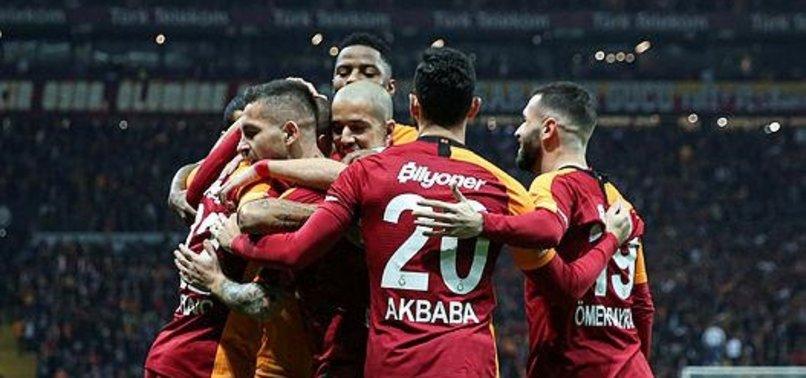 Galatasaray'dan gol patlaması