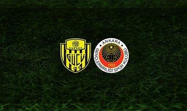 Ankaragücü - Gençlerbirliği maçı saat kaçta ve hangi kanalda?