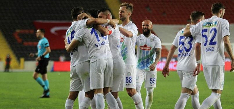 Gaziantep FK 4-5 Çaykur Rizespor (MAÇ SONUCU-ÖZET)