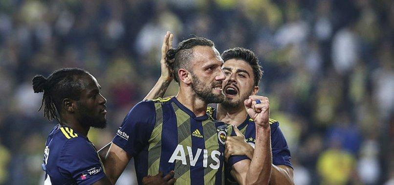 Fenerbahçe'de penaltılar artık Vedat Muriç'in
