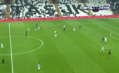 Beşiktaş 1-1 BB Erzurumspor