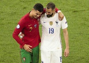 Golcüler sahne aldı Portekiz Fransa el ele turladı!