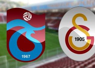 İşte Trabzonspor - Galatasaray derbisinin muhtemel 11leri