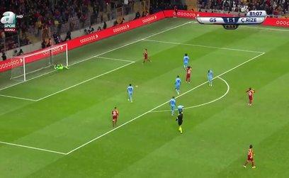 Galatasaray 2-1 Çaykur Rizespor